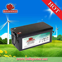 New solar panel battery for solar energy/12v 230ah deep cycle battery