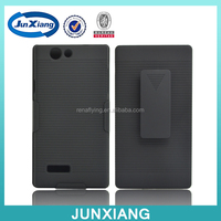 mobile phone case factory shell holster combo for zte blade l2