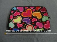 Fashion color lycra neoprene notebook carring case