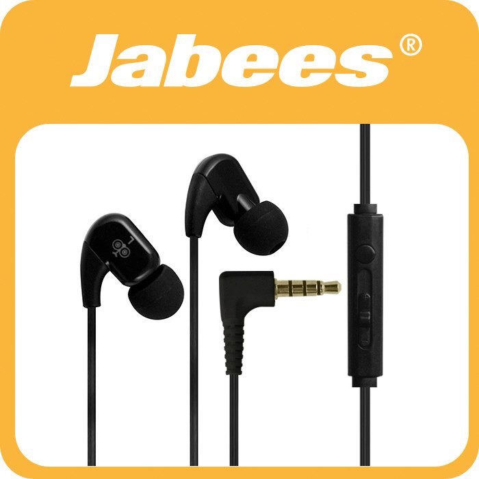 Jabees Bassy and Soothing Stereo active workout earbuds