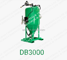 DB3000 Dustless Used Sandblasting Equipment For Sale