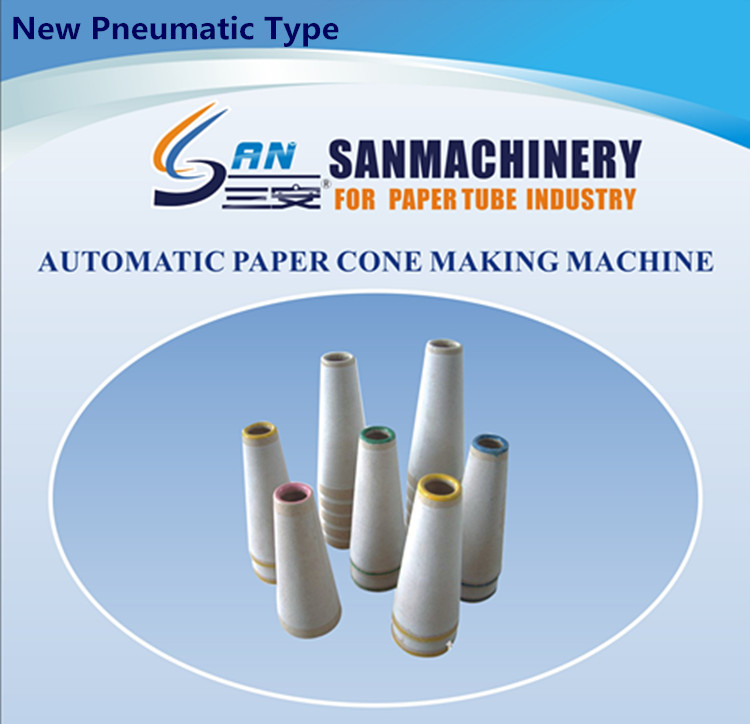 Automatic Paper Cone Making Machine for Textile Yarn
