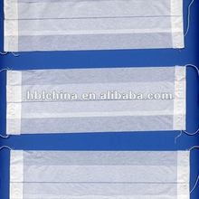 Hot selling machine medical disposable paper face mask