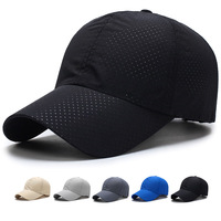 5ACP008 Wholesale mesh running cap/mesh sports baseball cap/dry fit running hap