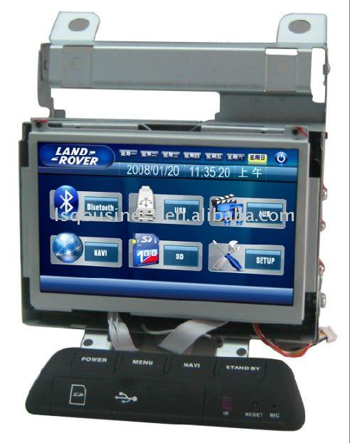 7inch car dvd player gps for landrover freelander 2, hot selling!
