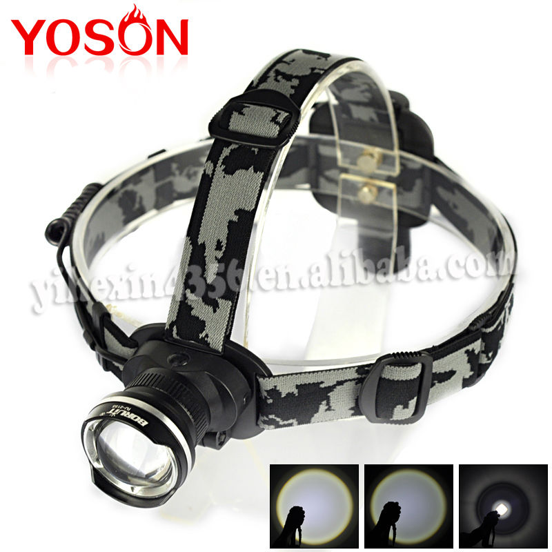Hot Sale Outdoor Lighting Cheapest Small Zoom Rechargeable Waterproof Cree t6 Led Motorcycle Headlamp