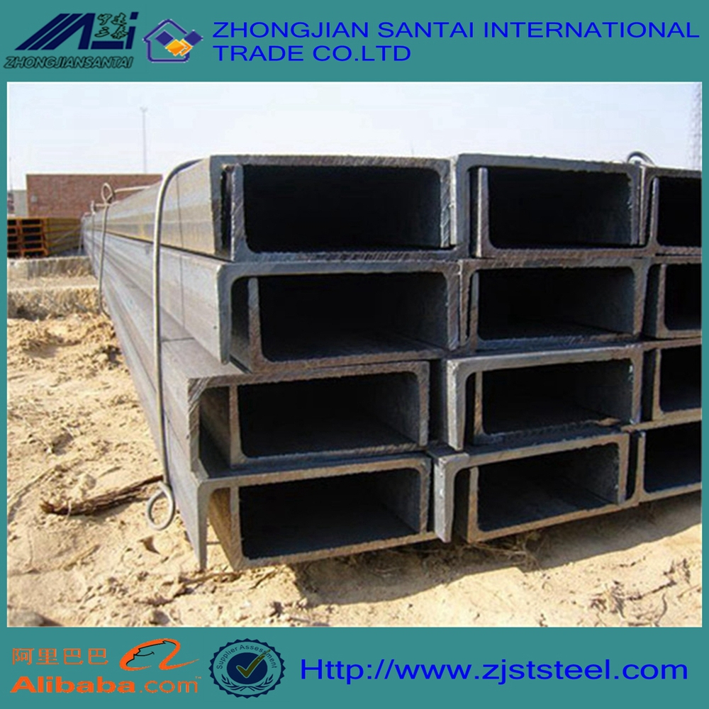 structural steel u-shape steel channels for construction