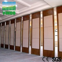 hall movable sound proof partition wall
