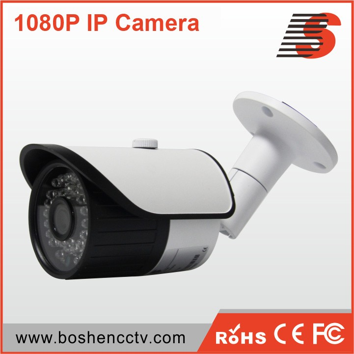 Boshen small size ip bullet cctv cameras 1080p 2mp network <strong>camera</strong> with poe optional