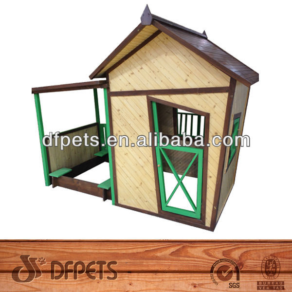 Wooden Play House Outdoor DFP012