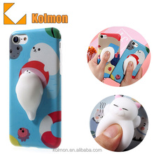 2016 China Manufacturer OEM Custom Design 3D Kneading Pinch Cell Phone Case for iphone 6s
