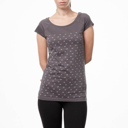 Custom cheap fitted Tee shirt breathable o-neck printed t shirts for women