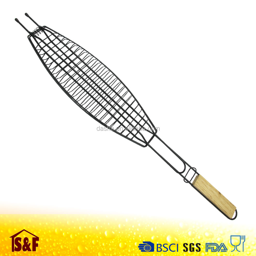 Wire Barbecue Fish Grill / Fish Grill Rack