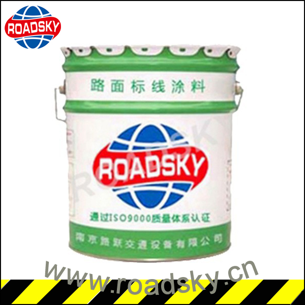 White/Yellow Easy Dry Waterborne Paints for Highway Lining