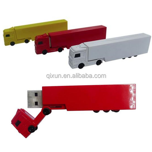 paypal accept 128mb 256mb 512mb 1gb 2gb 4gb 8gb 16gb 32gb 64gb plastic truck shape wholesale 4gb usb flash memory