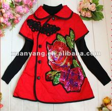 beautiful hand-made embroideries girls dress