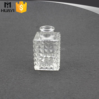 wholesale high quality decorative rectangle glass reed diffuser bottles