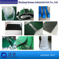 China Custom Endless Finger Joint Belt Pvc/pu Roller Conveyor Belt