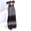 Mixed length 16 18 20 inches remy straight Brazilian hair 3 bundles