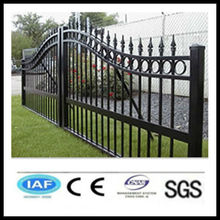 Wholesale China CE&ISO certificated pvc coated ornamental wrought iron fence(pro manufacturer)