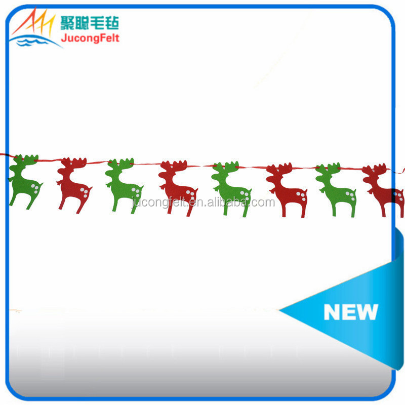 All Kinds Of Colors 100% Polyester Felt Christmas Decoration