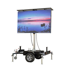 Advertising VMS LED Display Outdoor Traffic Full Color Led Advertising Digital Display Outdoor LED Mobile Digital Billboard