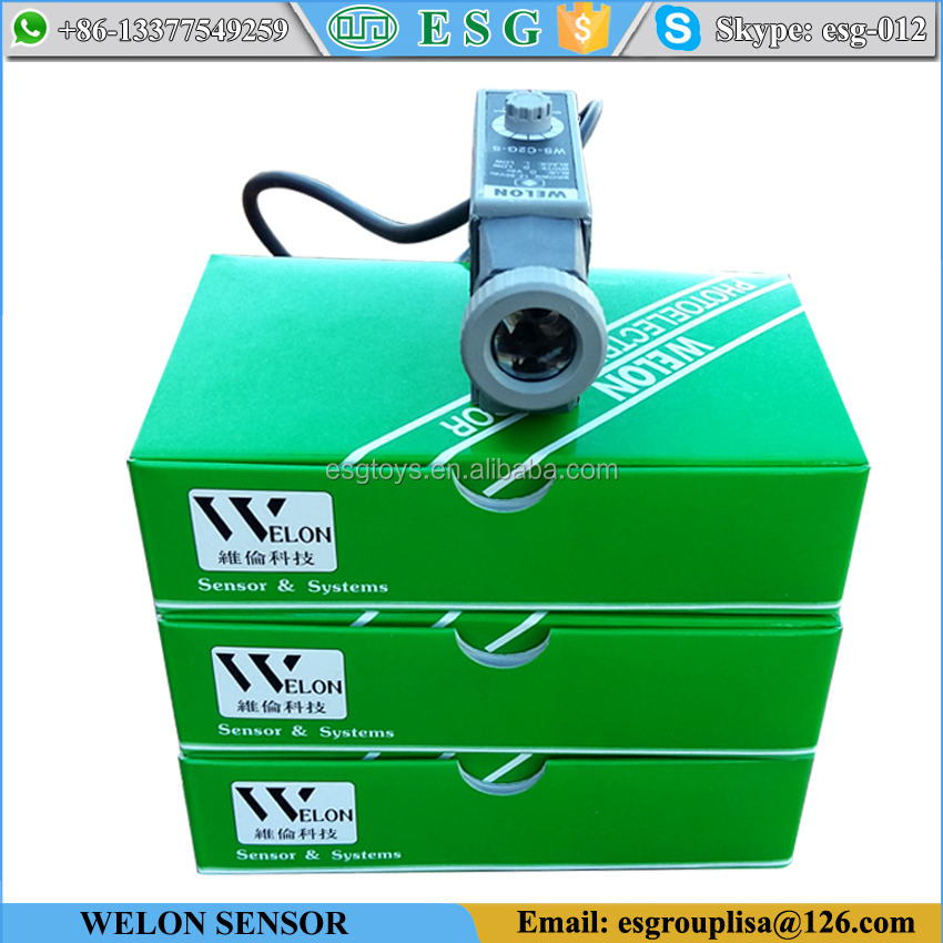 Printing Welon photoelectric switch color mark <strong>sensor</strong> photo electric <strong>sensor</strong> price