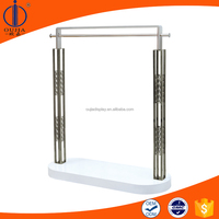 Black suit display stand, shirt rack standing, shopping mall display stand