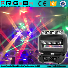 New design stage light disco 360 Roller 16*25W 4-in-1 led moving head professional show lighting