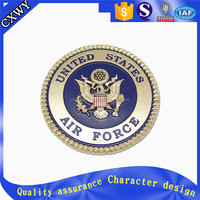 Custom eagle statue coin/United States Air Force coin