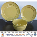 Daily Use Super Ceramic China Dinnerware Round Dinner Set