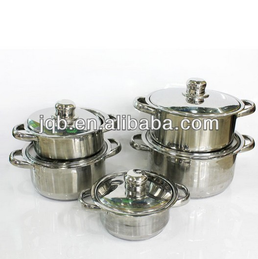 Wholesale high quality 316 stainless steel cookware