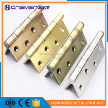 cheap and hardness door hinge Common Stainless Steel Brass Hinge