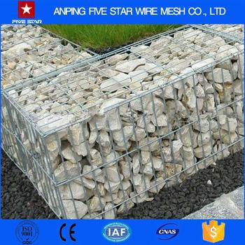 1m*0.5m*0.5m Welded Gabion Box/Gabion Mesh