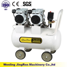 compressor silent oil free air compressor low noise oilless pump pistion air compressor