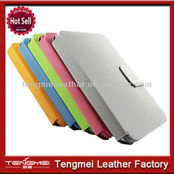 For ipad mini leather case bluetooth keyboard with supporter