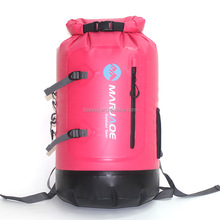 Stock Goods Pink Waterproof Backpack with Easy Access Front-Zippered Pocket and Cushioned Padded