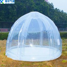 High quality Inflatable Transparent Bubble Tent/hot sale Circus Tent For Accommodation