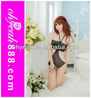 Latest fashionable lingerie open crotch sexy teddy lingerie sexy black teddy nighty