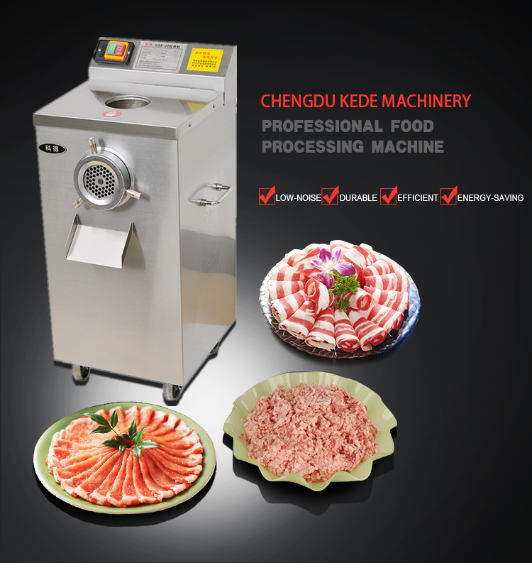 High Quality Professional Hot Sale stainless steel meat chopper machine