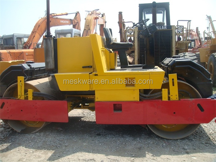 Used Road Roller DEUT Engine With Double Drum Vibration Roller