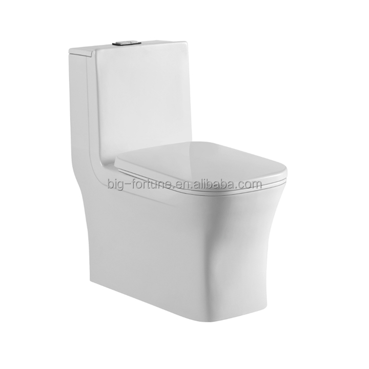 modern wc ceramic siphonic economic one piece toilet s-trap 250mm