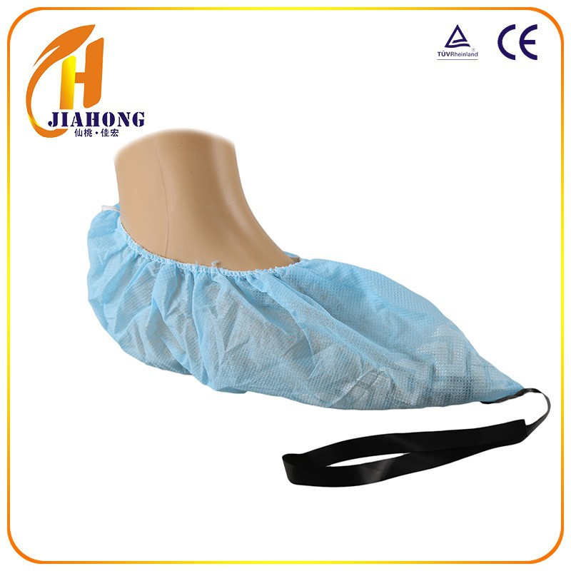 Nonwoven Disposable Non Slip fabric good quality pp shoe cover