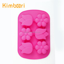 Hot Sale Eco-Friendly Flower Shape Cake Moulds Silicone