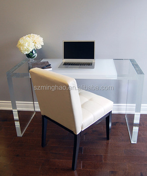 New design acrylic desk,clear acrylic desk