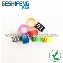 6.5mm high quality pigeon ring,,chicken foot rings,canary bird rings