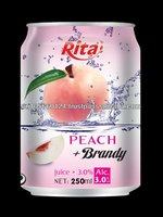 Peach Brandy Fruit Wine