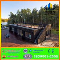 Economical trailer waterproof Combined container house