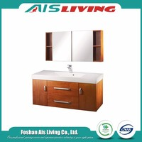countryside style mdf wooden bathroom cabinet made in china