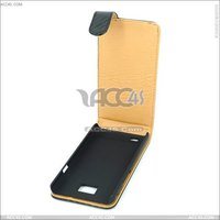 Basket pattern leather case with hard back cover for Samsung galaxy S2(i9100) SAMI9100CASE005